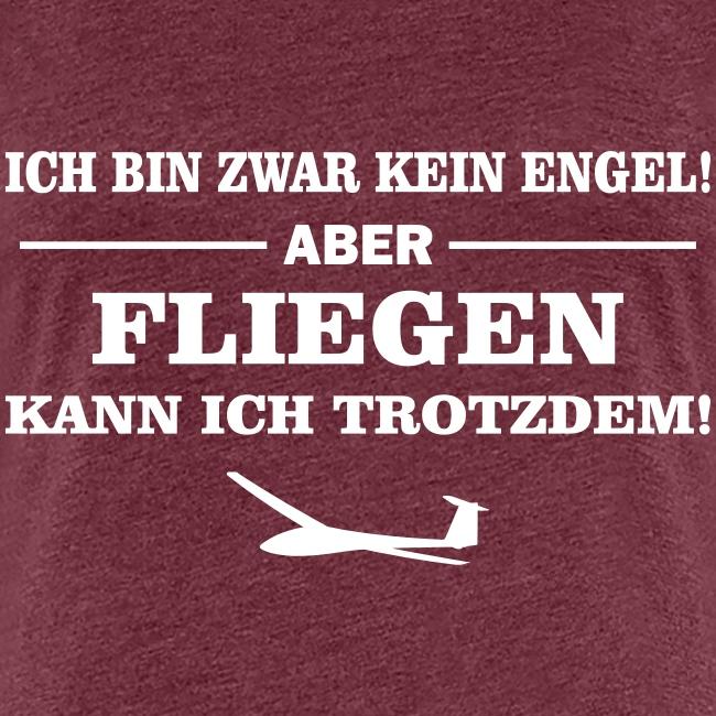 Segelflieger Geschenk Engel lustig T-Shirt