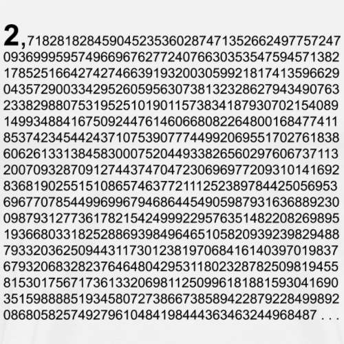 e Eulersche Zahl