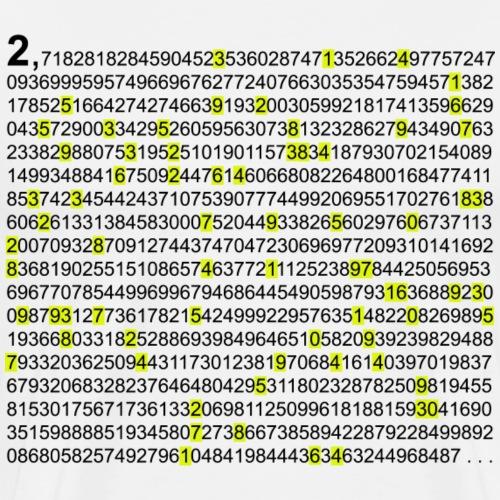 e & pi Eulersche Zahl PI