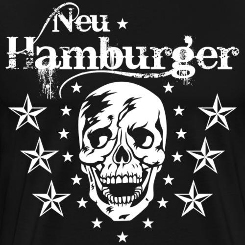 70 Neu-Hamburger Totenkopf Skull