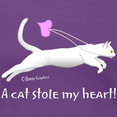 White cat thief