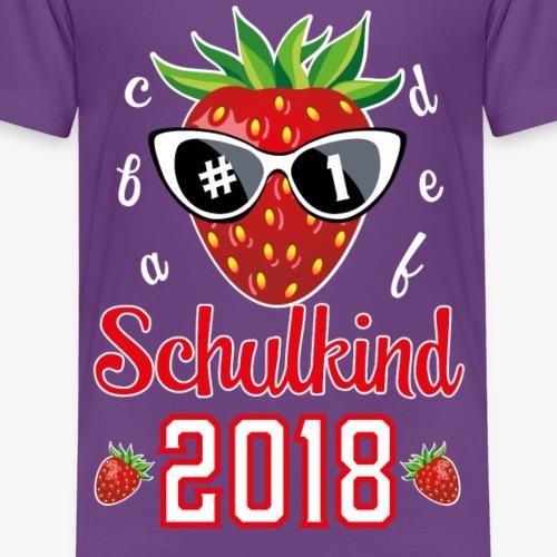 01 Schulkind 2018 Erdbeere Sonnenbrille