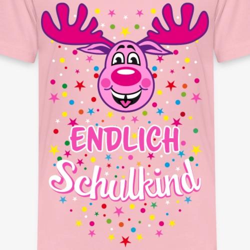 06 Endlich Schulkind Hirsch Rudi Pink