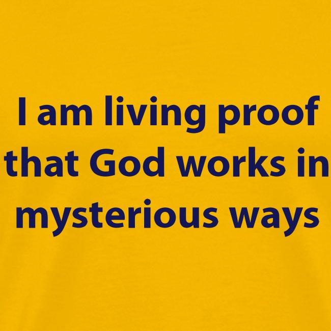 I AM PROOF THAT...