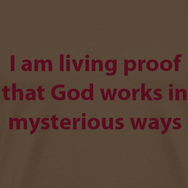 I AM PROOF THAT...