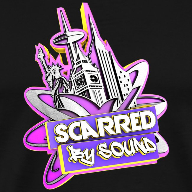NEW Scarred By Sound T-Shirt