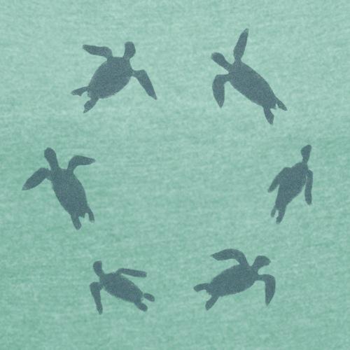 Meeresschildröten dunkel