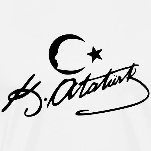 Atatürk silhouette Imza