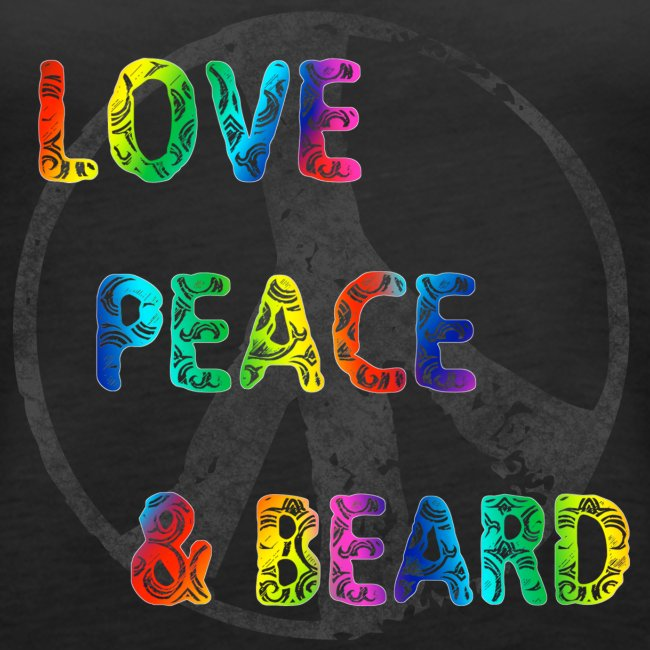 Peace, Love & Beard