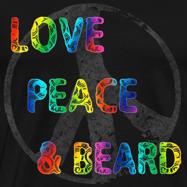 Peace, Love & Beard