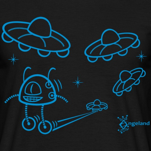UFO and Robot from Angeland