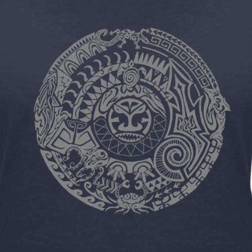Tiki Tattoo (grey)