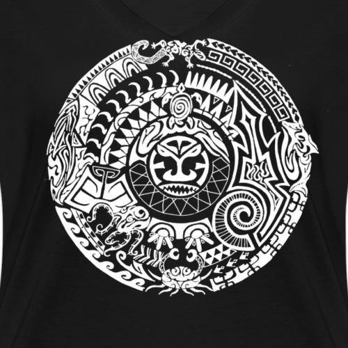 Tiki Tattoo (white)