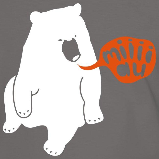 """Bär sagt Miau"" T-Shirt"