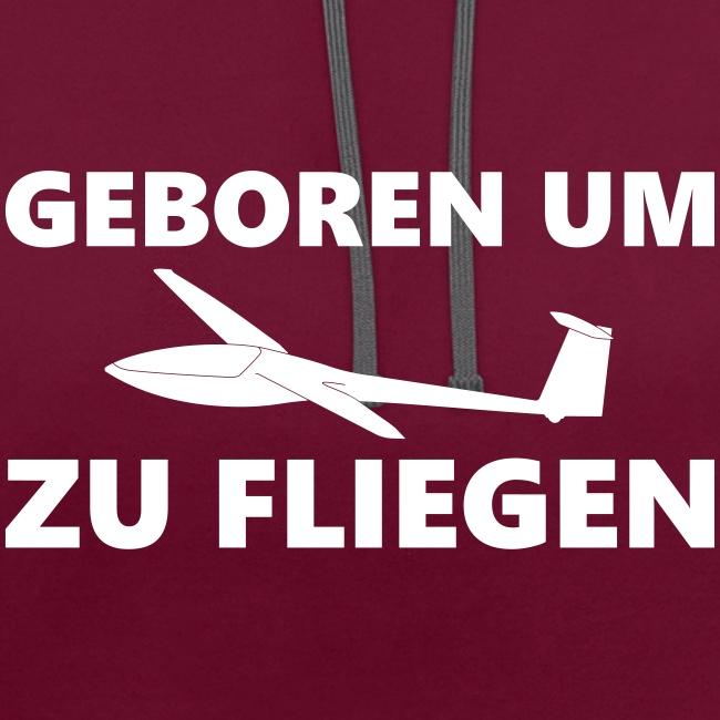 Geboren um Segelfliegen zu gehen - Segelflieger Geschenk Idee lustig