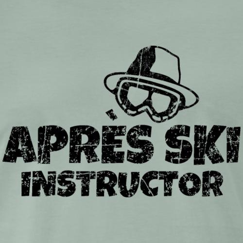 Après-Ski Instructor Skilehrer (Vintage Schwarz)