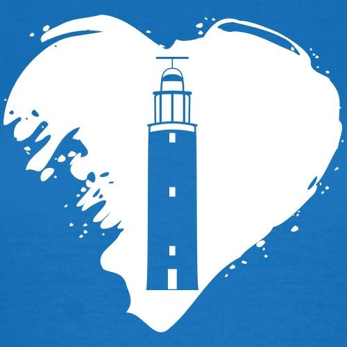 Texel Leuchtturm Herz Geschenk