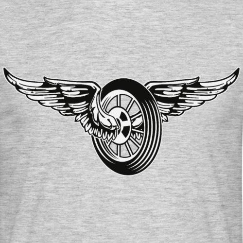Rueda con alas
