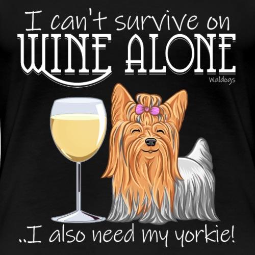 Wine Alone Yorkie