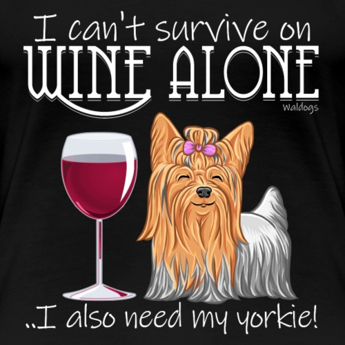 Wine Alone Yorkie II