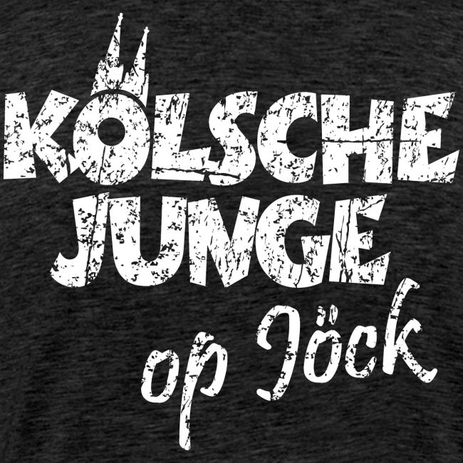 Kölsche Junge Op Jöck Premium Köln T-Shirt