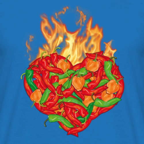 Chili Pepper Heart T-Shirt