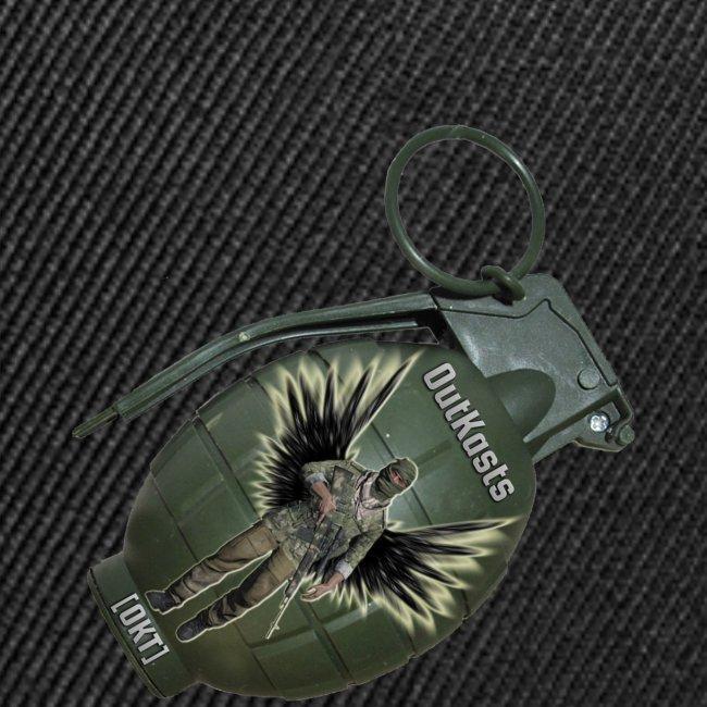 OutKasts.EU Grenade Side Contrast Snapback Cap