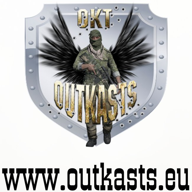 OutKasts.EU ArmA 3 Coasters (set of 4)