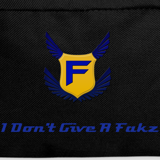 I Don't Give A Fakz Backpack