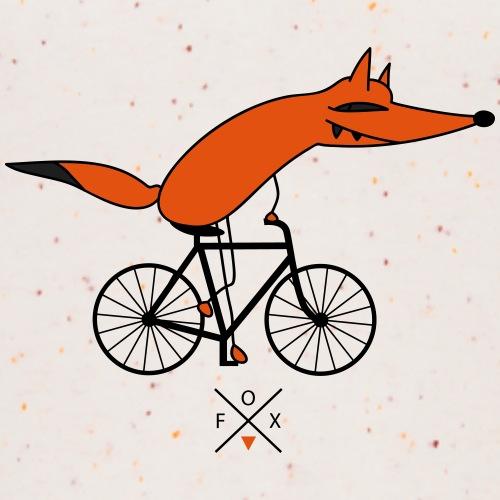schlauer Fahrradfahrer