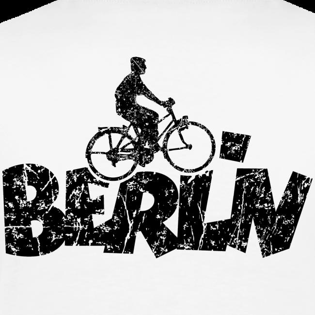 Berlin Premium Fahrrad T-Shirt für Berliner Fahrradfahrer