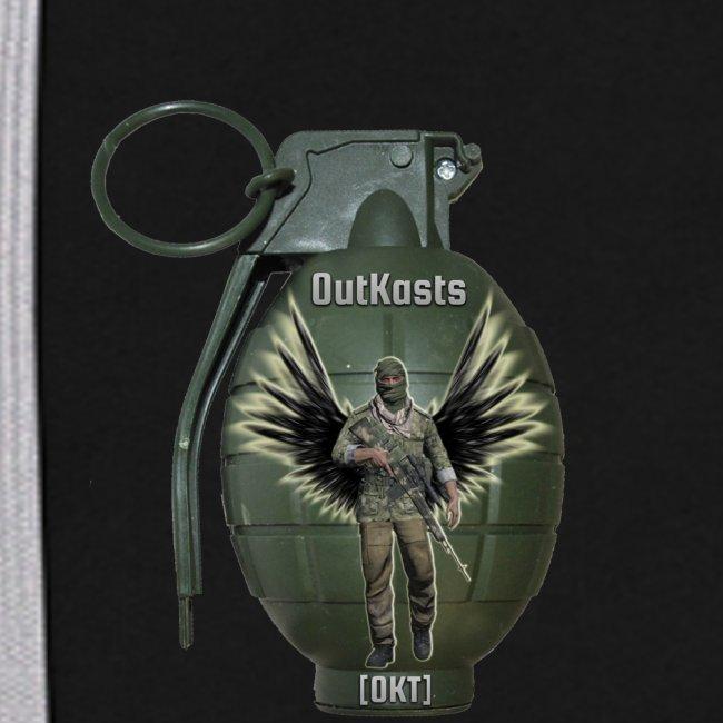 OutKasts.EU Grenade Straight Contrast Colour Hoodie
