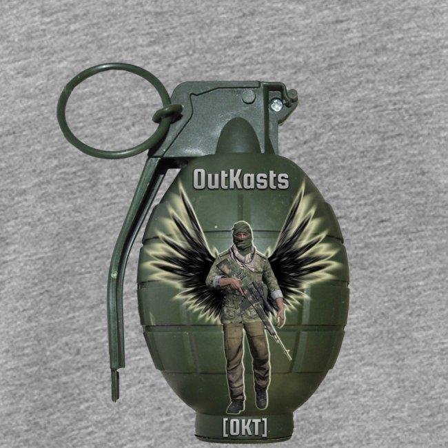 OutKasts.EU Grenade Straight Men's Premium Tank Top