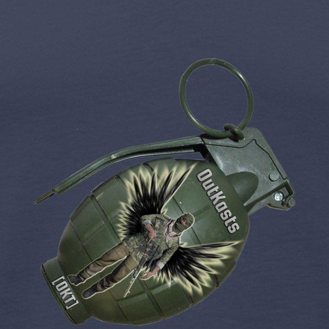OutKasts.EU Grenade Side Men's Premium Tank Top