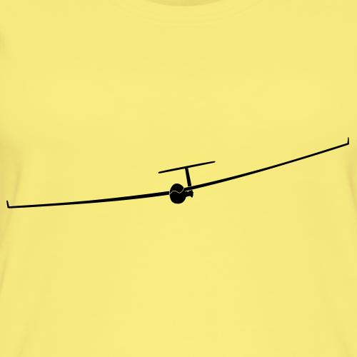 Segelflugzeug mit Winglet