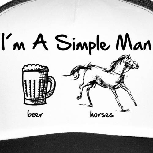 simple man pferd