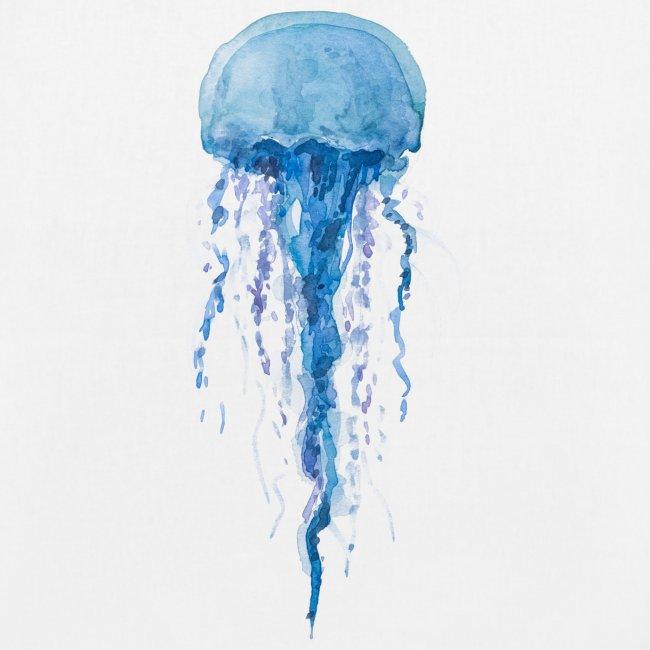Medusa blau