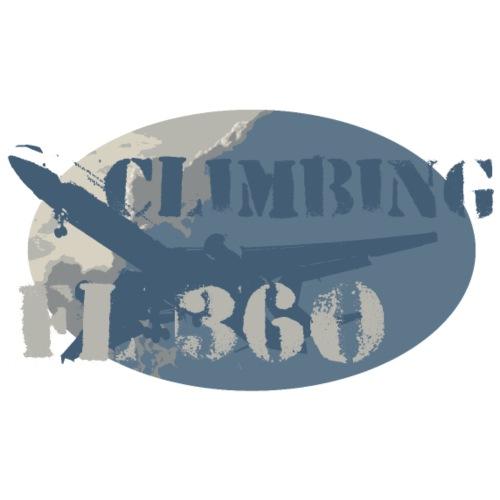Flugzeug Climbing FL360