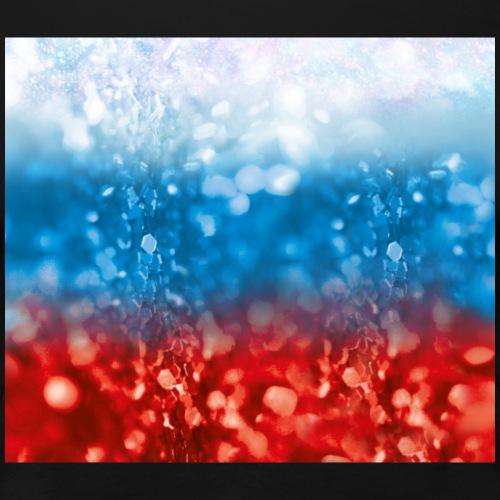 05 Russland Flagge Fahne Glitzer Russia