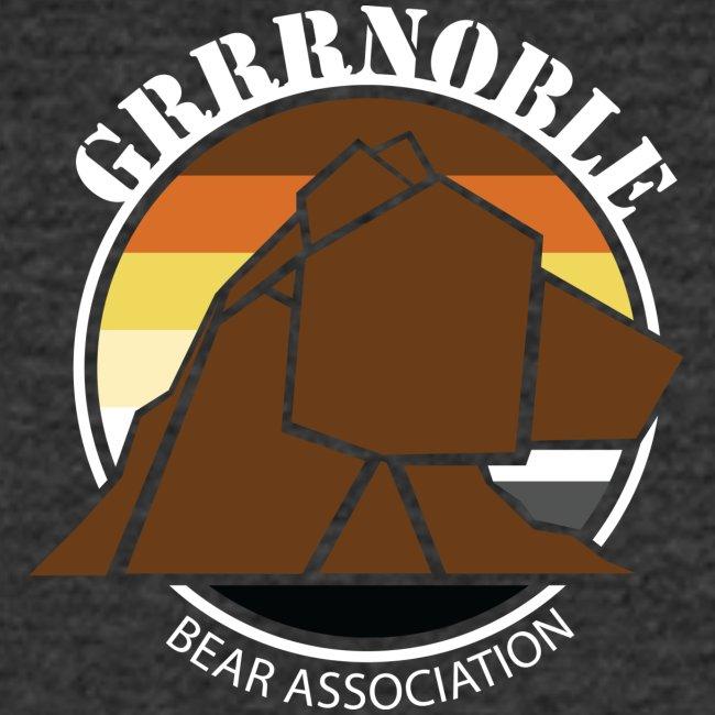 T-shirt tres gros logo Grrrnoble bear association