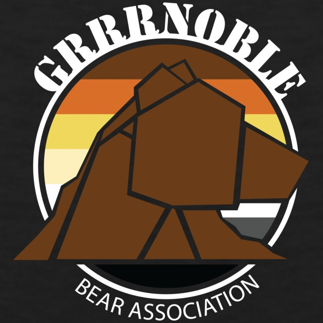 T-shirt sans manche GRRRNOBLE BEAR ASSOCIATION