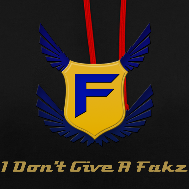 I Don't Give A Fakz Hoodie