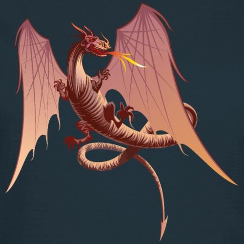 Dragon crachant le feu