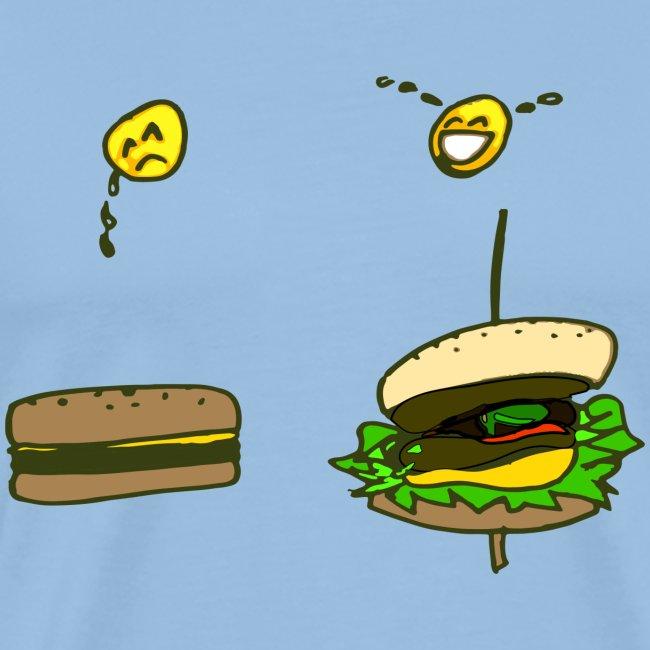 Andari Lore´ll Fake Vs Real Burger