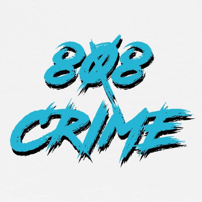 808 CRIME TEE [blue]
