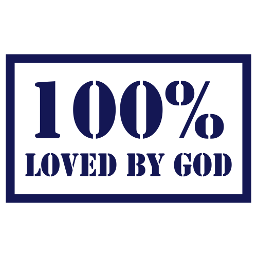 100% loved by God