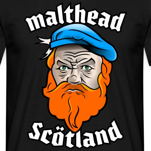 Malthead Scotland Whisky T-Shirt