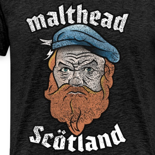 Whisky T-Shirt Malthead for Whisky Fans