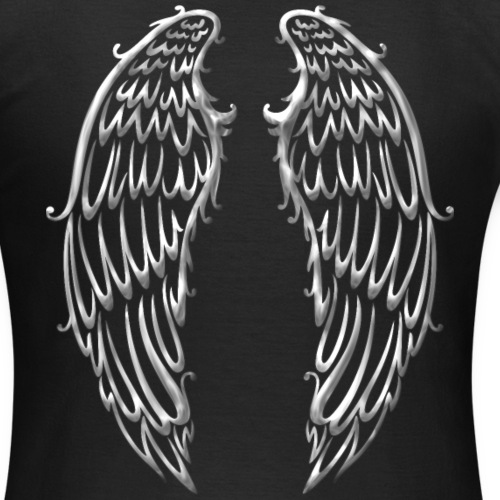 Große Flügel, Engelsflügel, silber