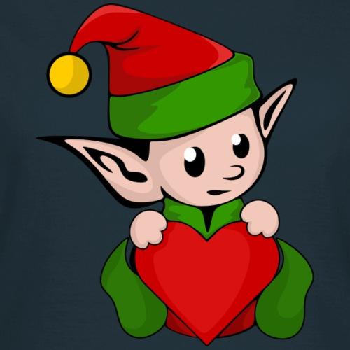 Elf mit Herz Geschenk Idee